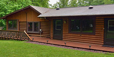 MURMURWOOD CABINS – CLAM LAKE